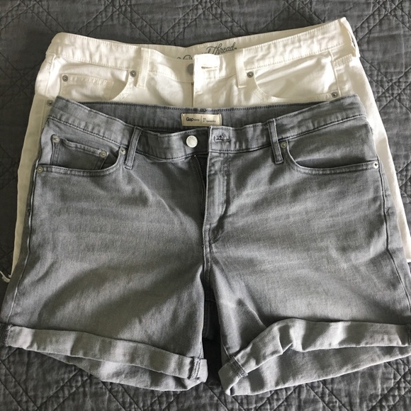 GAP Pants - Size 12/14 - Two pairs of shorts
